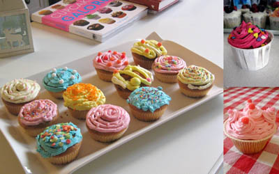 Cupcakes-beurre