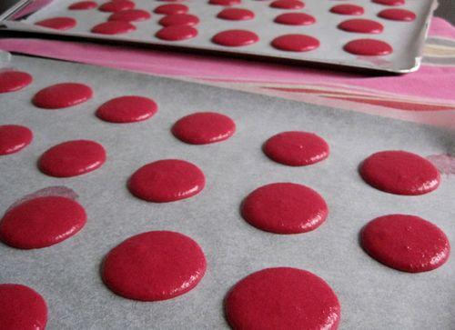 Macarons-framboises-plaques-avant