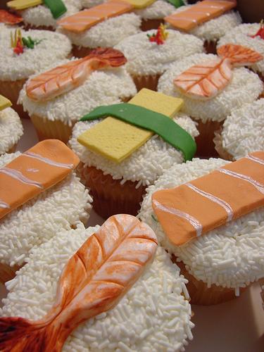 Cupcakes-sushi