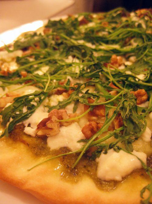 Pizza-blanche-verte