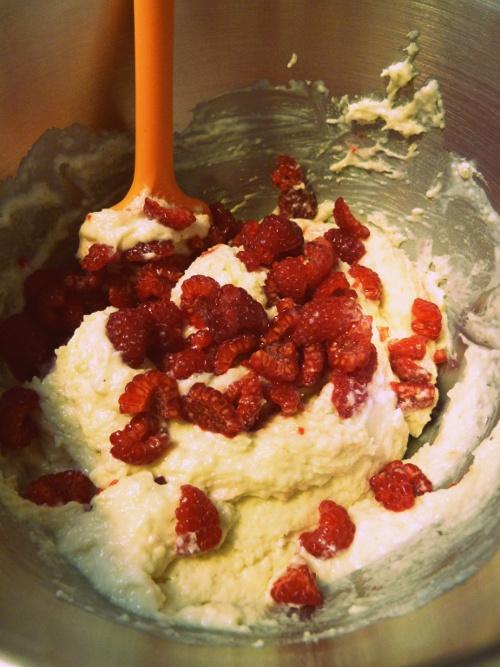 Cupcakes-framboises-pistache-pate
