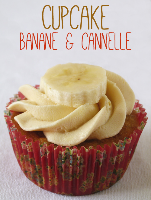 Cupcak-banane-cannelle