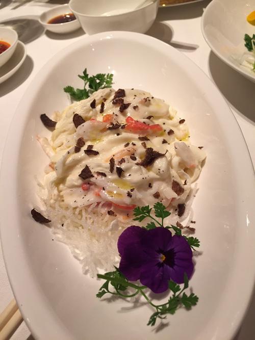 Omelette-crabe-truffe